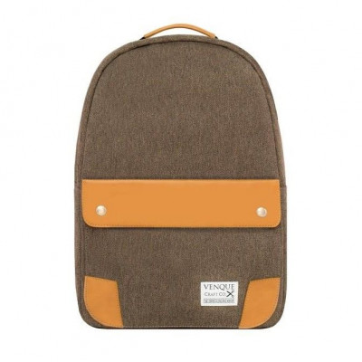 The Classic Backpack | Brown & Tan