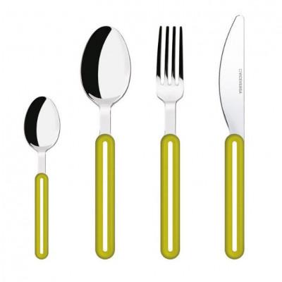 Offset Cutlery Set | Green