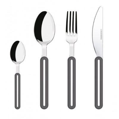Offset Cutlery Set | Grey