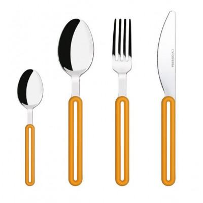 Offset Cutlery Set | Orange