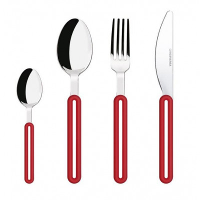 Offset Cutlery Set | Red