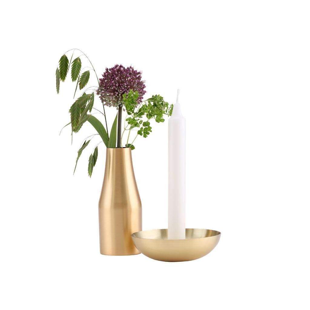 Kerzenständer Amanda | Messing