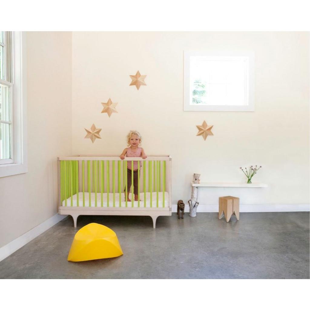 Wohnwagen-Babybett - Grün