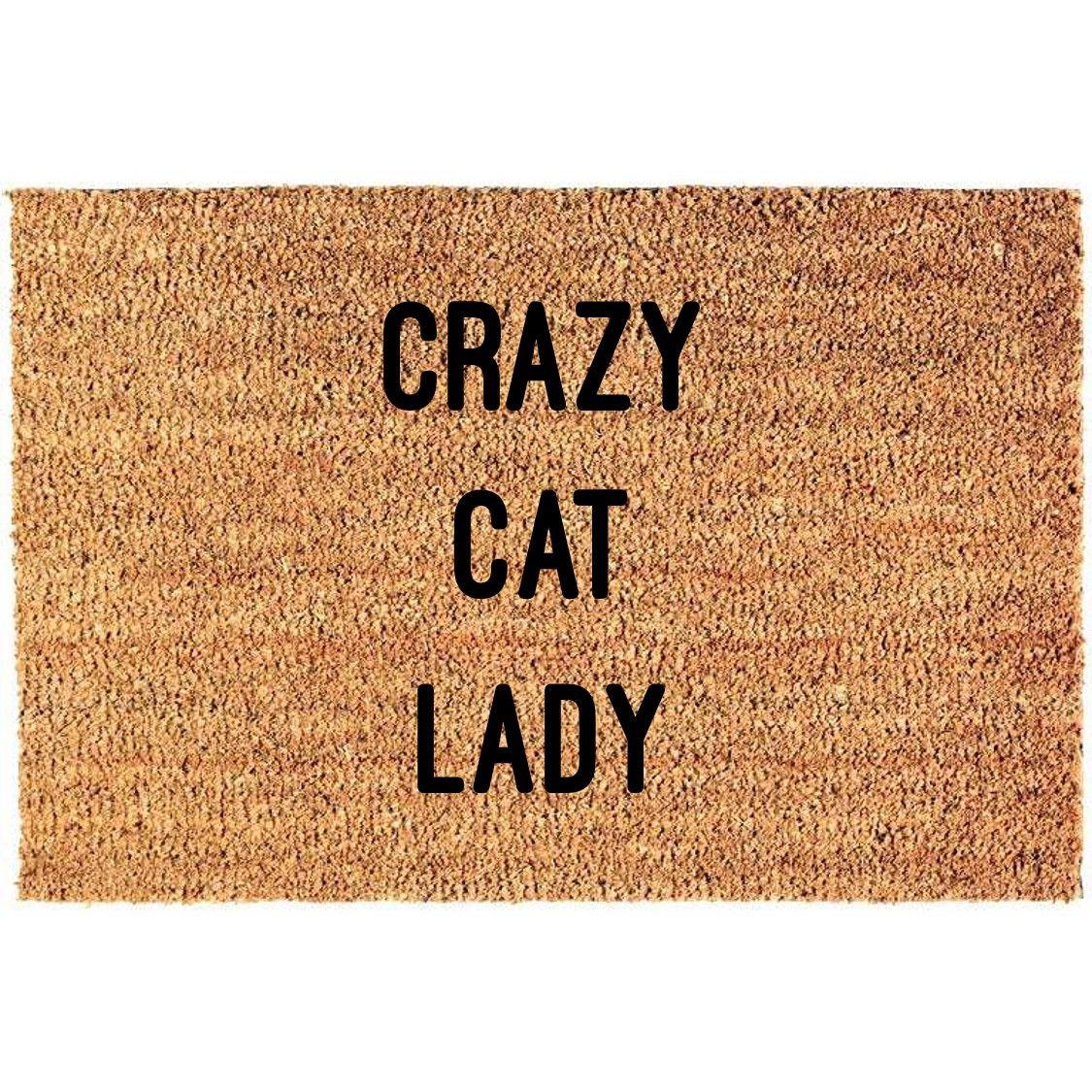 Fußmatte | Verrückte Katzenlady
