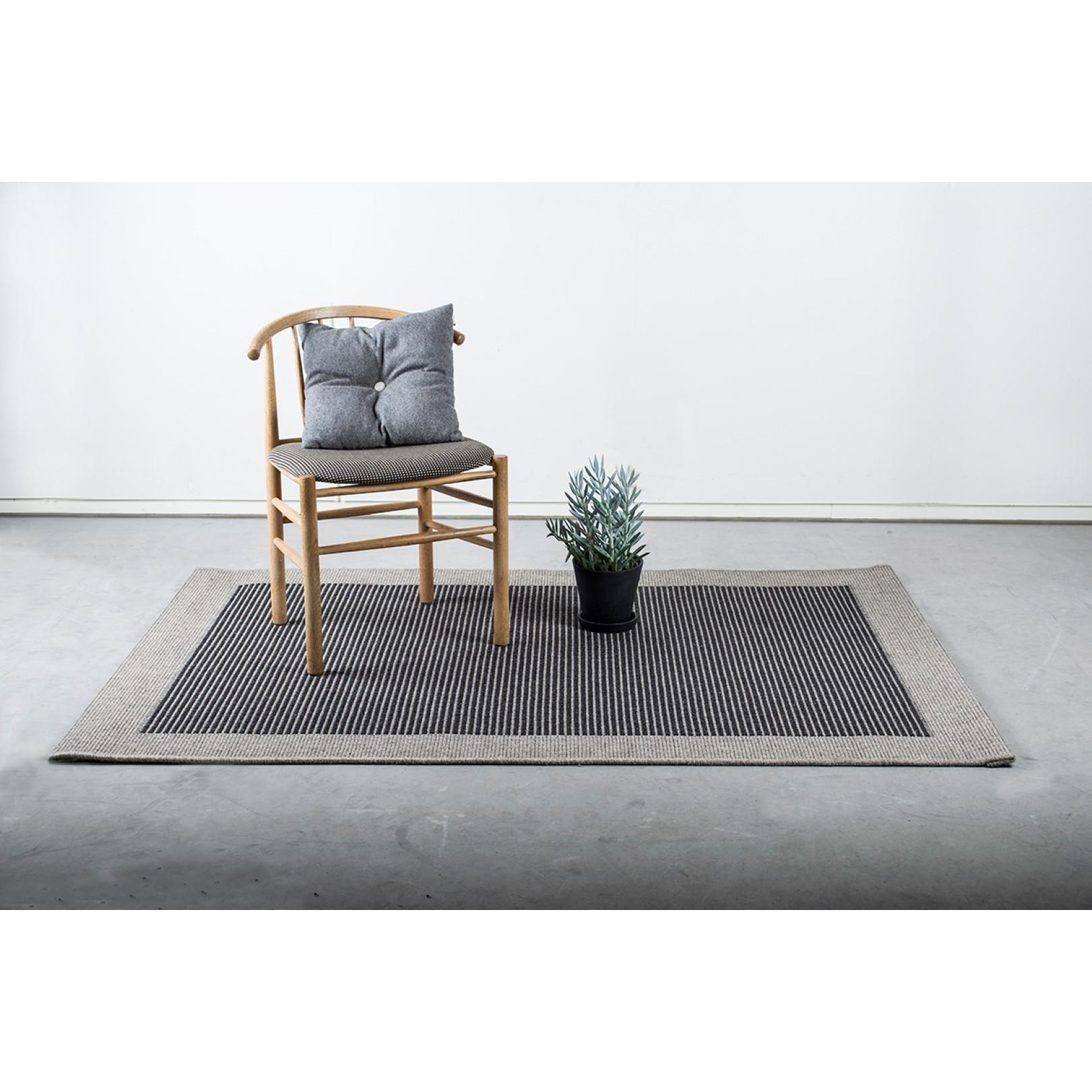 Teppich Casablanca   Hellgrau-80 x 150 cm