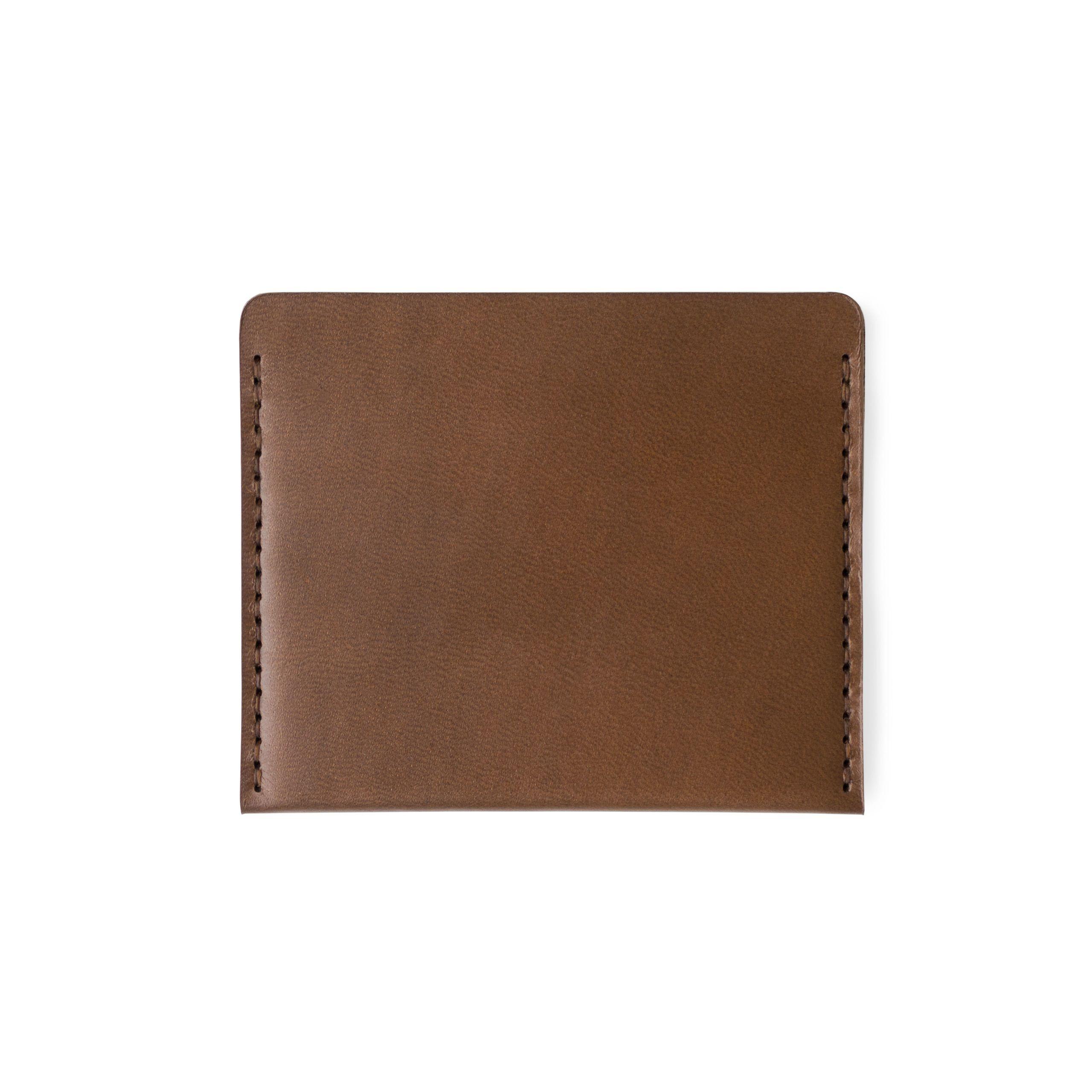 Cascade Wallet | Bark Horween Chromexcel-Leder