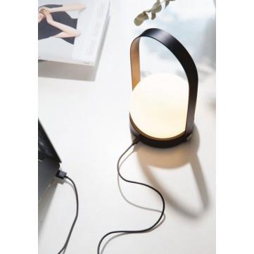 Carrie LED Lamp | Black
