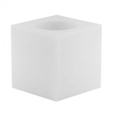 Crystal Tea Light Holder   White
