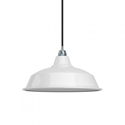 Industrial Bell | White