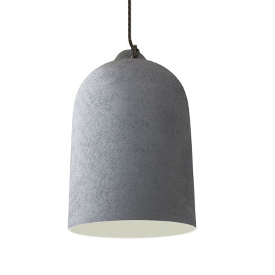 Industrial Ceramic Dome | Cement & Grey