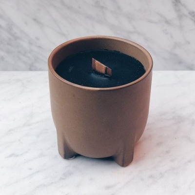 Cab Indoor Candle   Brown