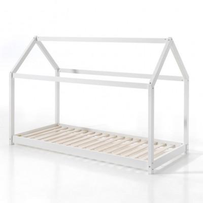 Kabinenbett 90 x 200 cm   Weiß