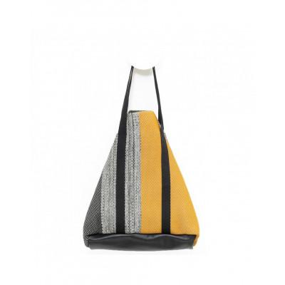 Bag Cabaz | Ochre - Black - Beige