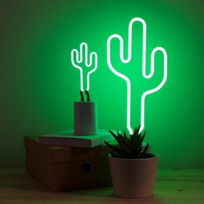 Cactus Neon Lights   Small