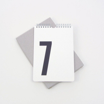 Perpetual Calendar | White