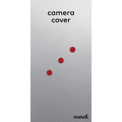 Camera Cover CAMOUT Set of 3   Red