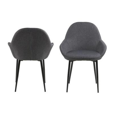 Set de 2 Chaises Fabrice | Gris