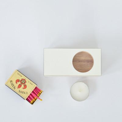Tealight Holder   Birch Wood