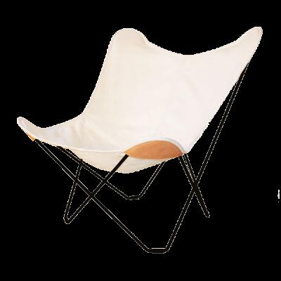 Stuhl Butterfly Canvas | Weiß