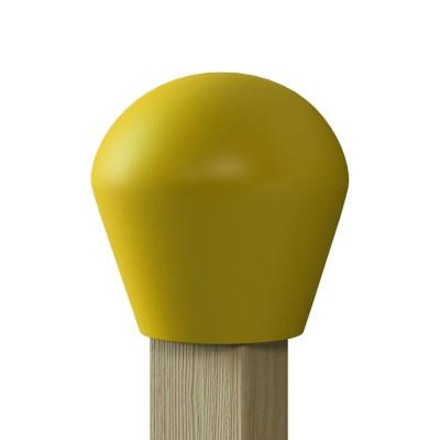 Streichholzregal für die Halle - Gelb
