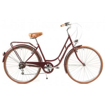 Classic Bicycle Capri Berlin 6 Speed | Night Fire Red