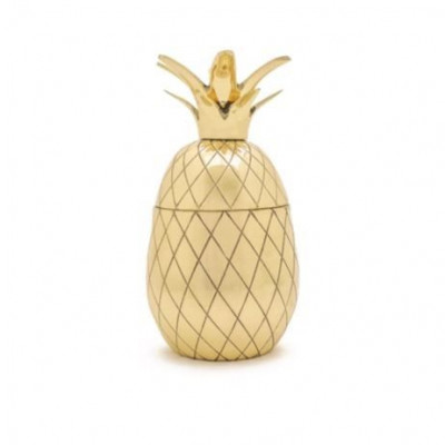 Ananas-Tumbler | Gold