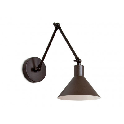 Wandlampe Capuchina A2 | Dunkelgrau