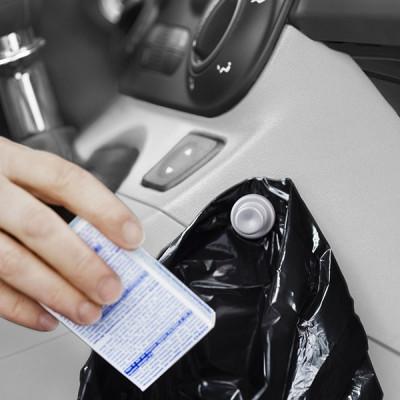 Müllsackhalterung fürs Auto | Schwarz