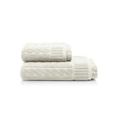 Towel Amelia Set of 2 | Beige