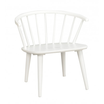 Lounge-Stuhl Carmen   Weiß
