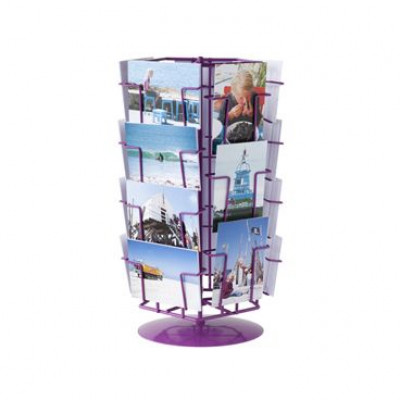 Picture Rack Carroussel Purple