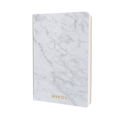 Marble Notebook   Carrara White