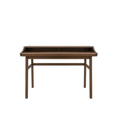 Schreibtisch Carteret Walnuss | Dunkles Holz