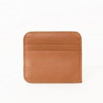 Cash & Credit Card Holder | Caramel