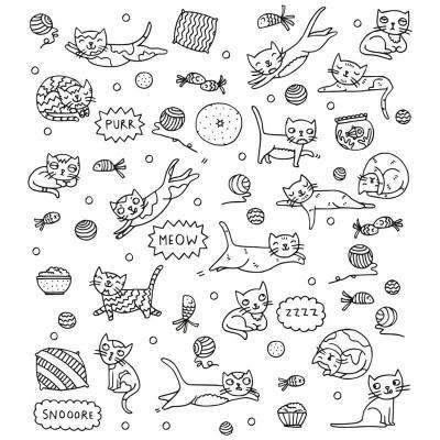 Eva Mouton Coloureable Wall Paper | Cat S
