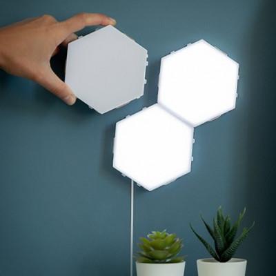 3-er Set modularen LED-Wandlampen Tilight