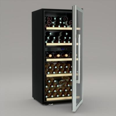 Weinklimaschrank Dual Zone 91 Flaschen