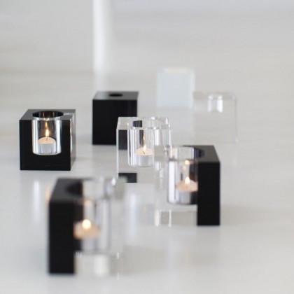 Crystal Tea Light Holder | Clear