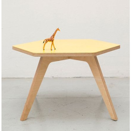 Coffee Companions Table | Yellow