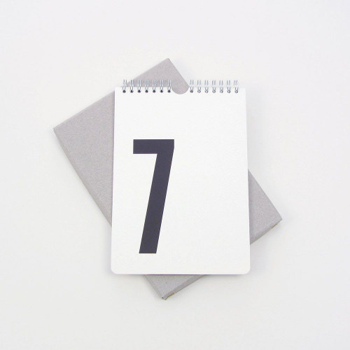 Perpetual Calendar   White