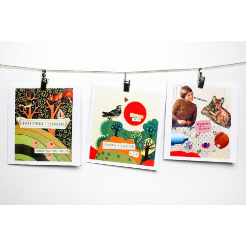 2 sets of 3 Camping Cards Serie I