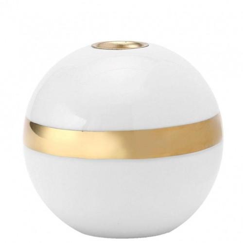 Kerzenständer Karma   Weiß & Gold #2