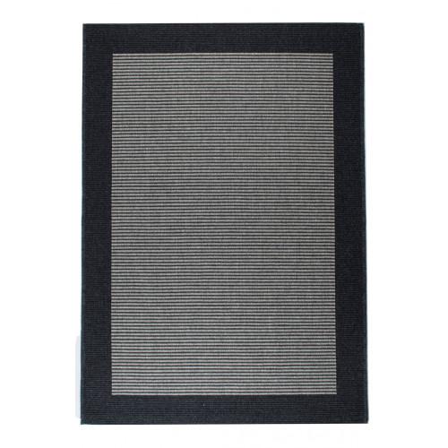Teppich Casablanca | Dunkelgrau-80 x 150 cm