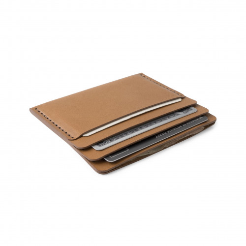 Cascade Wallet   Tobacco Horween Leather