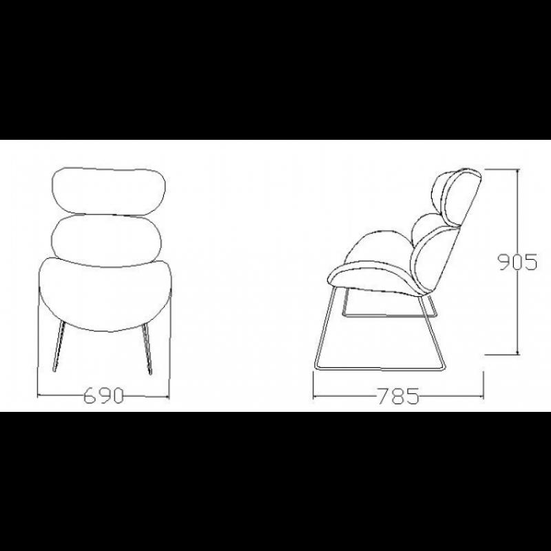 Resting Chair Eden | Brown