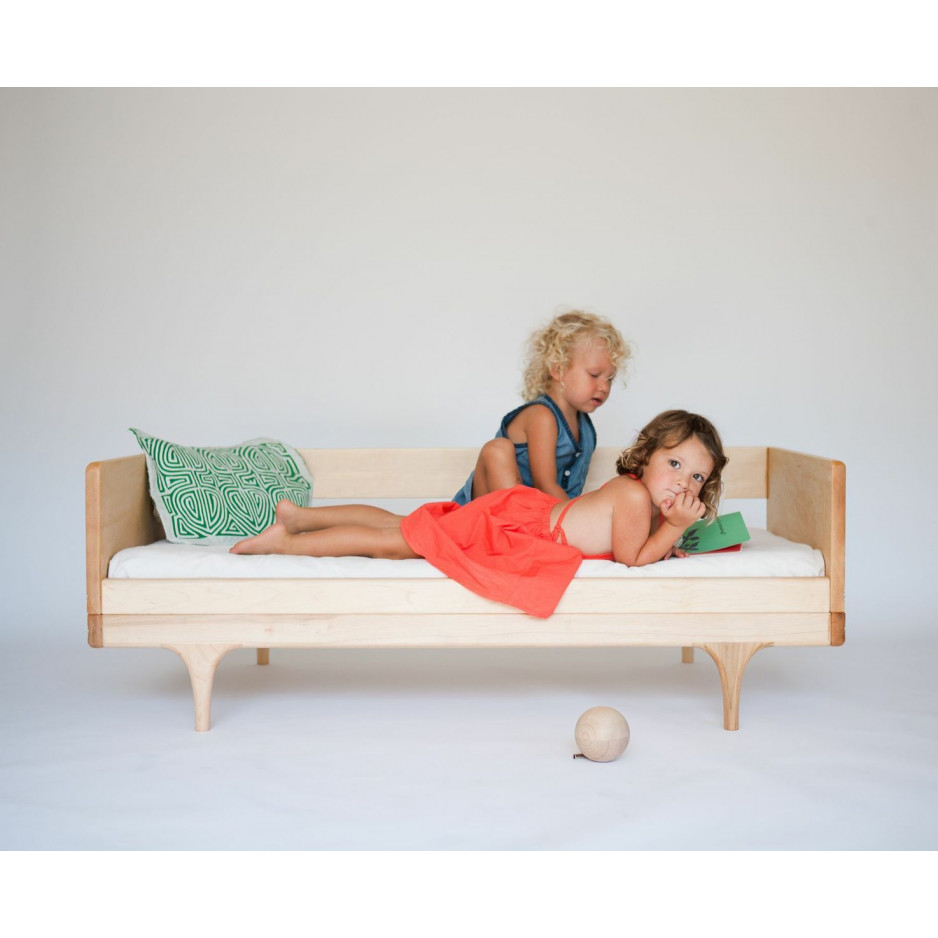 Wohnwagen-Diwan/Junior-Bett - Rosa
