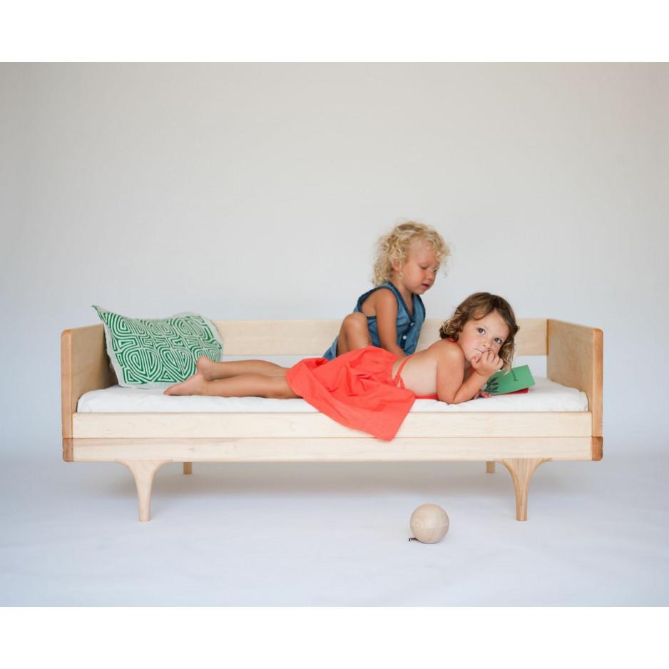 Wohnwagen-Diwan/Junior-Bett - Schwarz