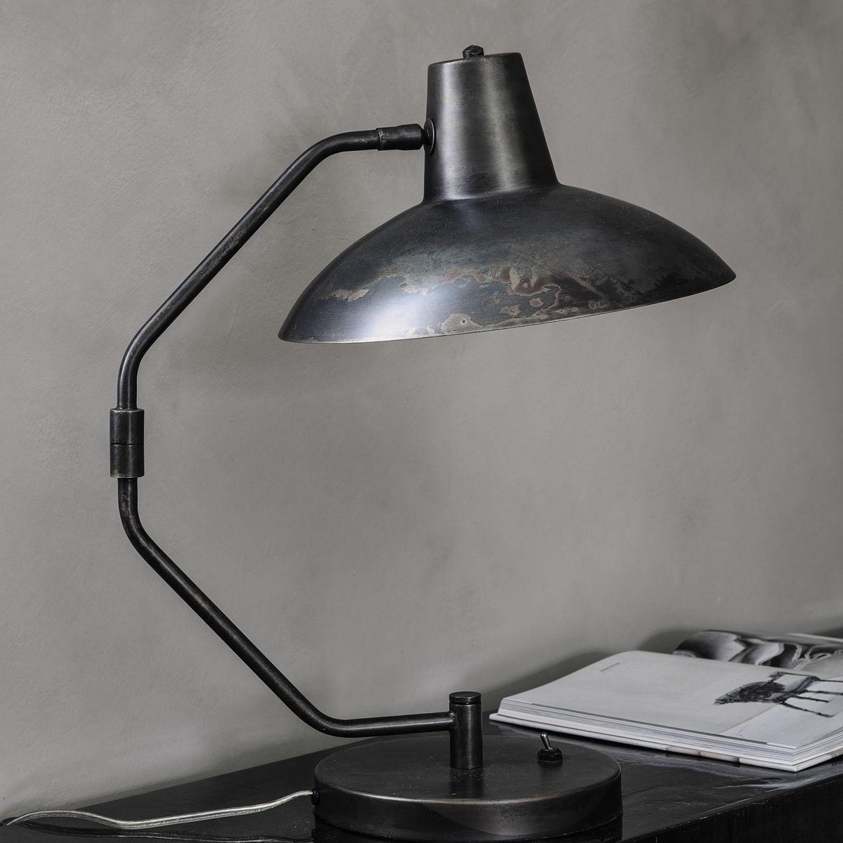 Tischlampe Schreibtisch | Antik-Braun