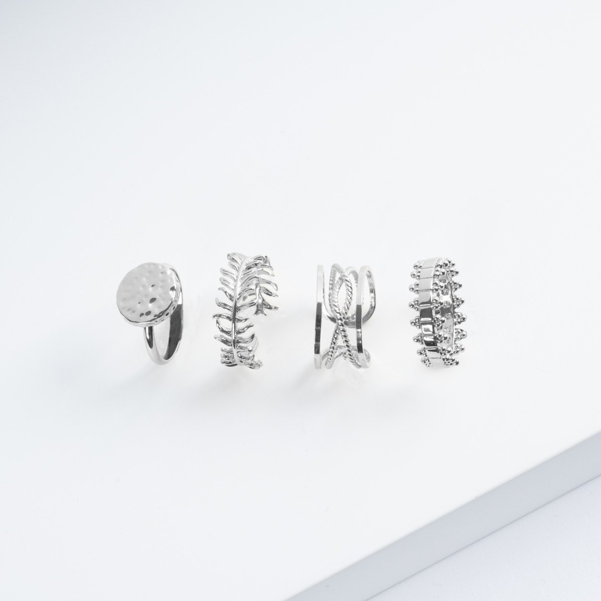 Kerze mit Silberner Ring | Abb