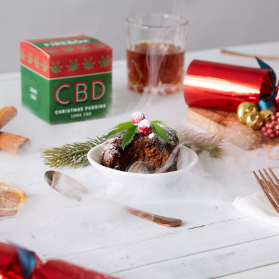 CBD-Weihnachtspudding
